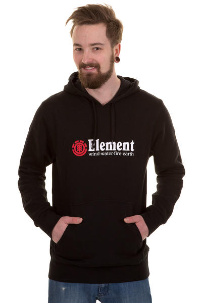 Element Horizontal Hoodie (black)