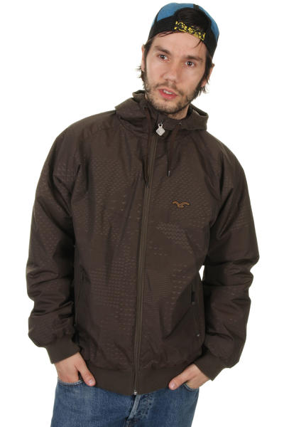 Cleptomanicx Burner Night Camou Jacke (brown)