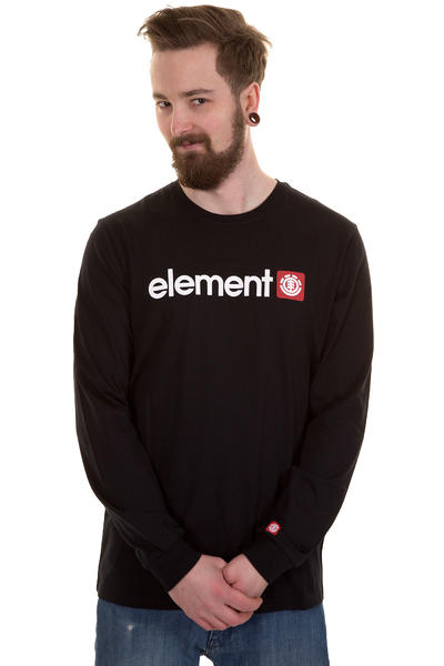 Element Logo Longsleeve (black)