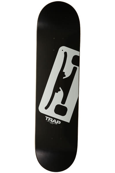 Trap Skateboards Truck Logo E 8&quot; Deck (black white)