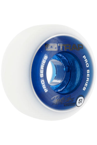 Trap Skateboards Dual Duro Pro Paco 51mm Rollen 4er Pack  (blue)