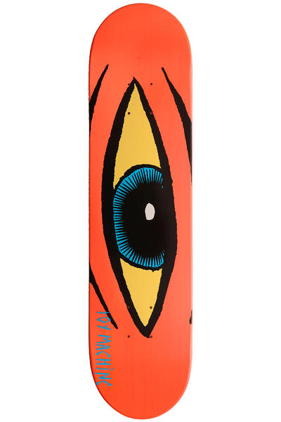 Toy Machine Sect Eye 7.625&quot; Deck (neon orange)