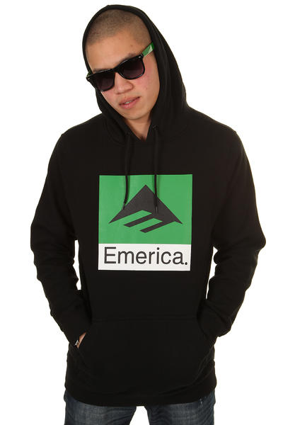 Emerica Combo Hoodie (black)