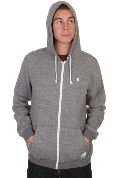 Etnies Classic Zip-Hoodie (grey heather)