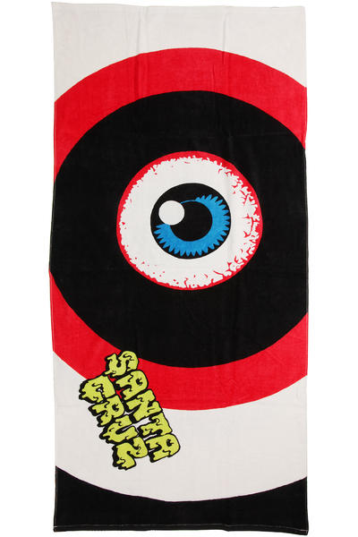 Santa Cruz Rob Eye Handtuch (white black)