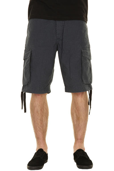 REELL New Cargo Shorts (micro check blue)