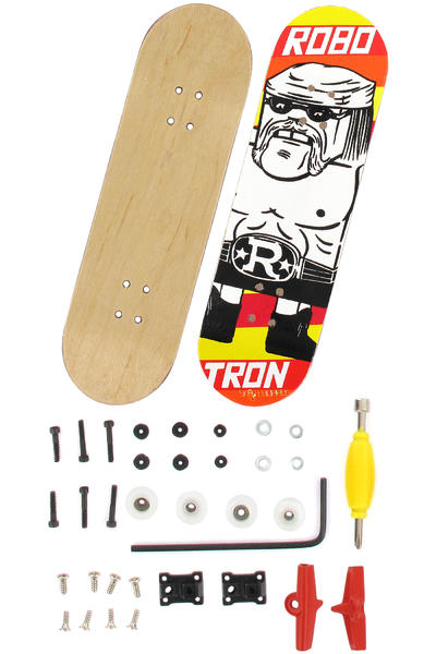 Robotron Hulkster Fingerboard (white yellow orange)