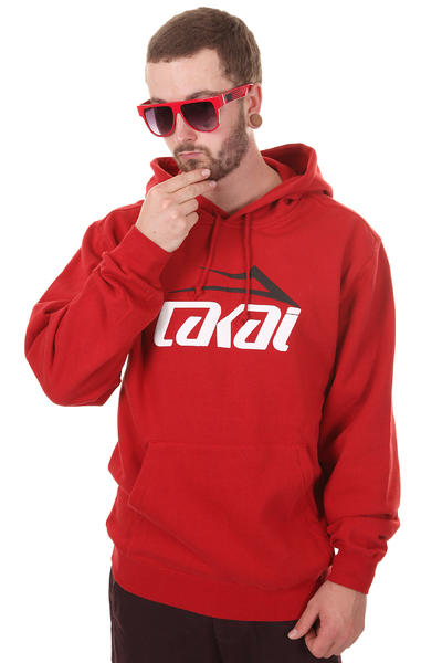 Lakai Essential Hoodie (red)
