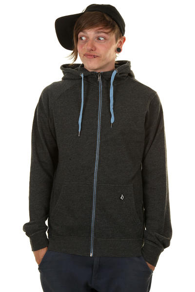 Volcom Timesoft III Ultra Slim Zip-Hoodie (black)