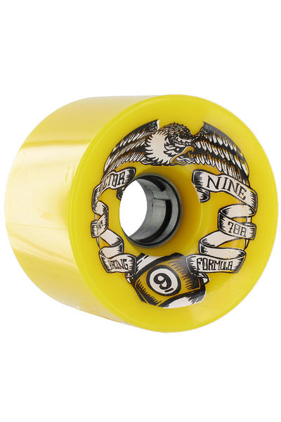 Sector 9 Race Formula 74mm 78a Rollen 4er Pack  (yellow)