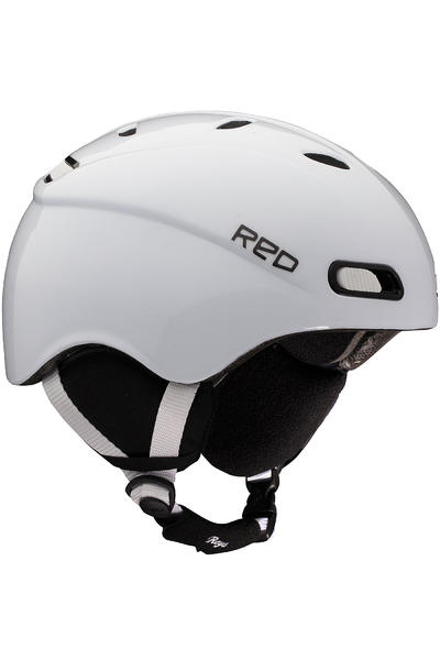 RED Reya Classic Snow-Helm girls (white matte)