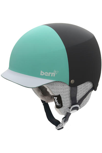 Bern Baker Snow-Helm girls (matte grey mint green)