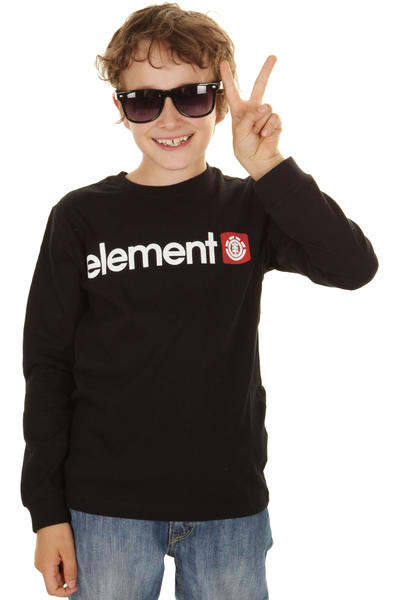 Element Logo Longsleeve kids (black)