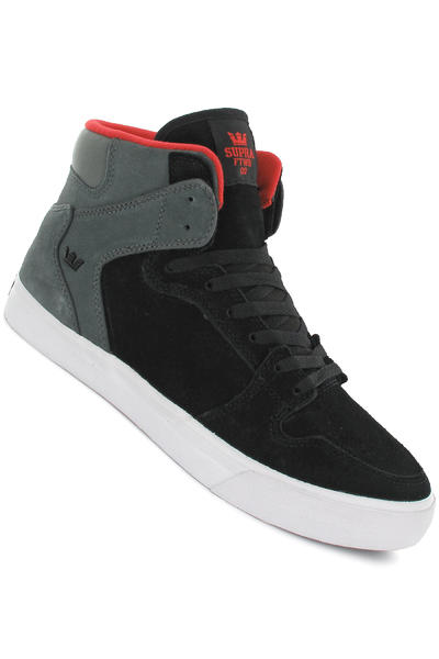 Supra Vaider Suede Schuh (black grey)
