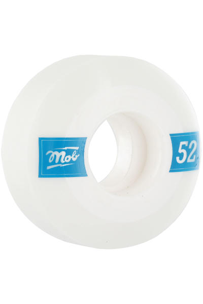 MOB Skateboards Quadra 52mm Rollen 4er Pack  (white blue)