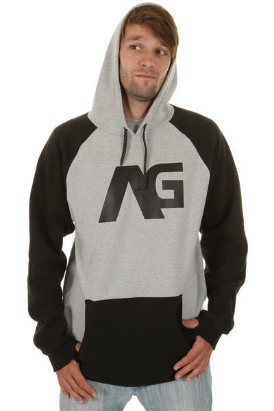 Analog Reply Snow Hoody (true black)