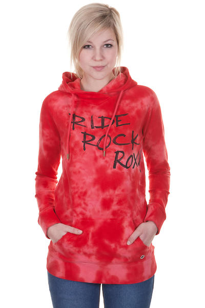 Roxy Frisbee Hoodie girls (washed red)