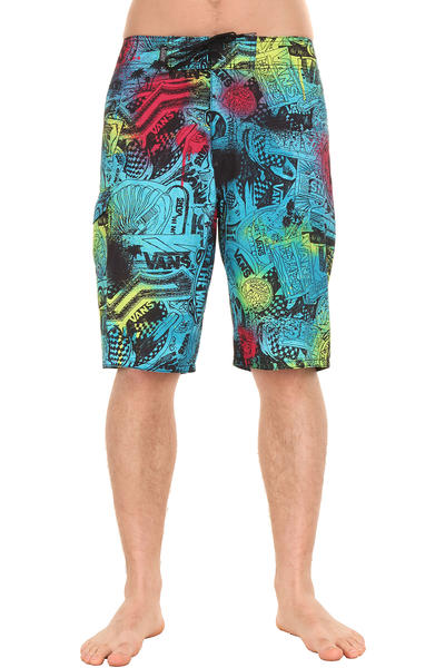 Vans Off The Wall Boardshorts (bluebird sticker)