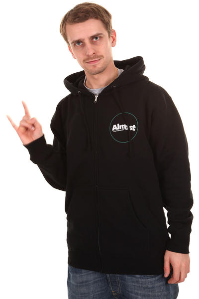 Almost Circle Zip-Hoodie (black)
