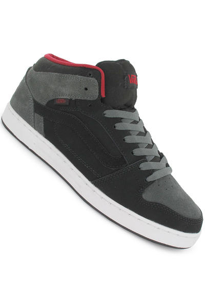 Vans Edgemont Schuh (charcoal black red)