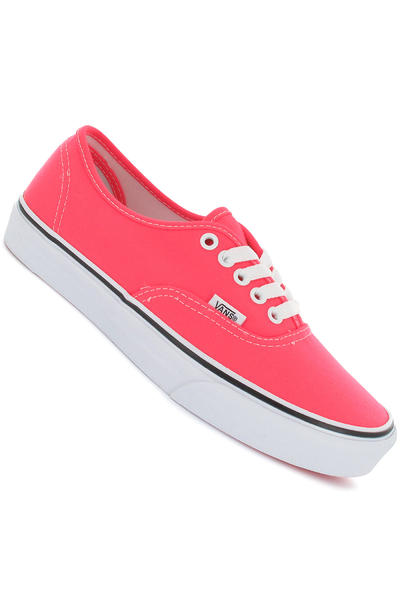 Vans Authentic Schuh girls (neon pink true white)