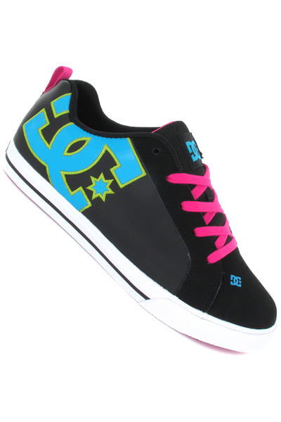 DC Court Graffik Vulc Schuh girls (black turquoise soft lime)