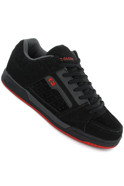 Globe Liberty Schuh (black charcoal red)