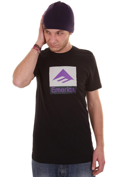 Emerica Combo 10 T-Shirt (black silver)