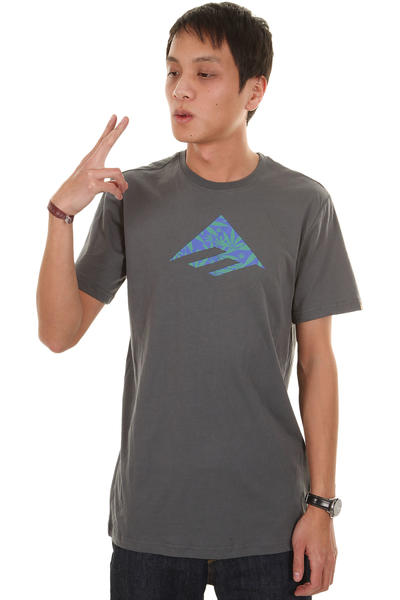 Emerica Triangle Fill 12 T-Shirt (charcoal)