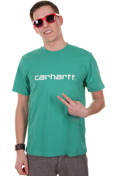Carhartt Script T-Shirt (seacrest white)
