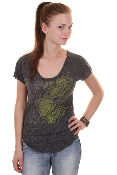 Famous Galactic T-Shirt girls (black heather)