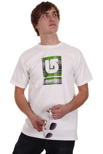 Burton Logo Fill SP12 T-Shirt (bright white)