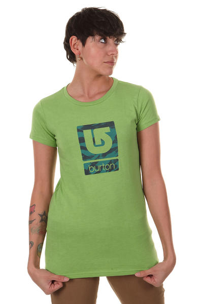 Burton Logo Fill T-Shirt girls (heather sweet leaf)