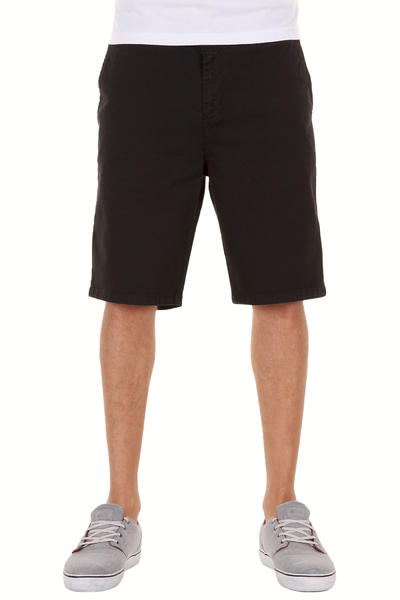 Cleptomanicx Port Slim Chino Shorts (black)