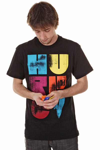 Hurley Shapes T-Shirt (black)