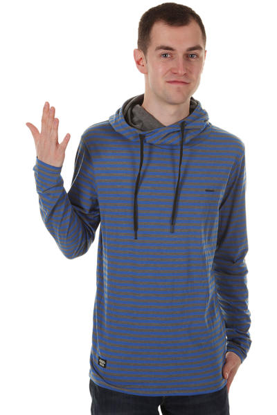 Ragwear Yegg Longsleeve m. Kapuze  (bright blue stripes)