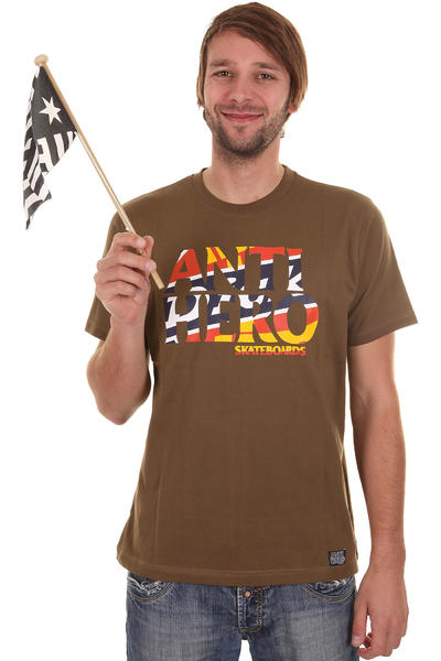 Dickies Anti Hero DK T-Shirt (dark brown)