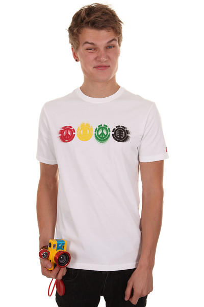 Element Gradient T-Shirt (white)