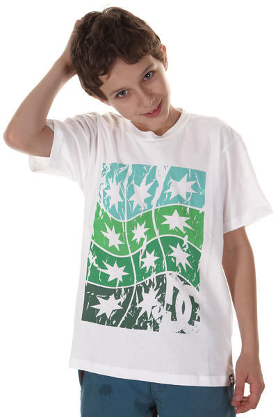 DC Twisted Stars T-Shirt kids (white)
