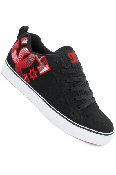 DC Court Vulc SE Schuh (black plaid)