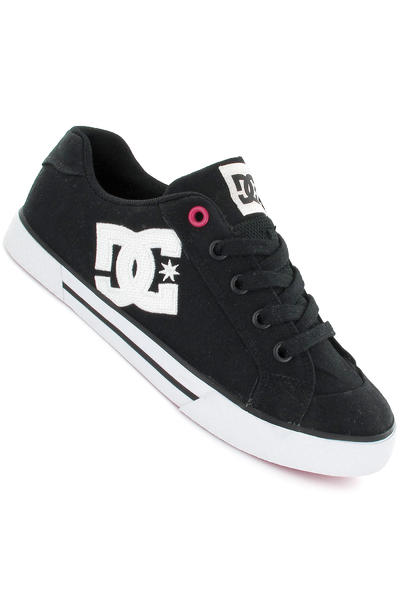 DC Chelsea TX Schuh girls (black crazy pink)