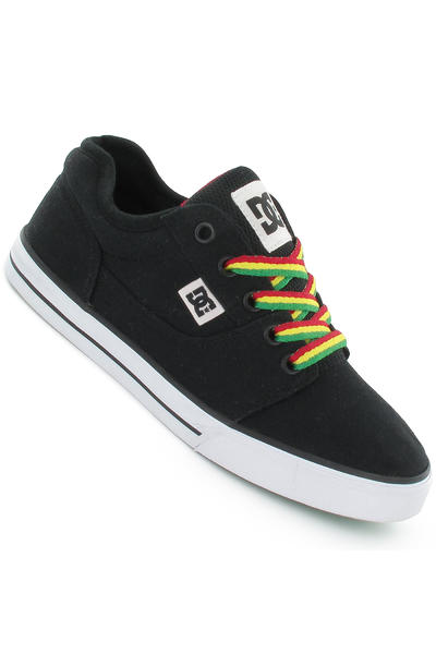 DC Bristol Canvas Schuh kids (black rasta)