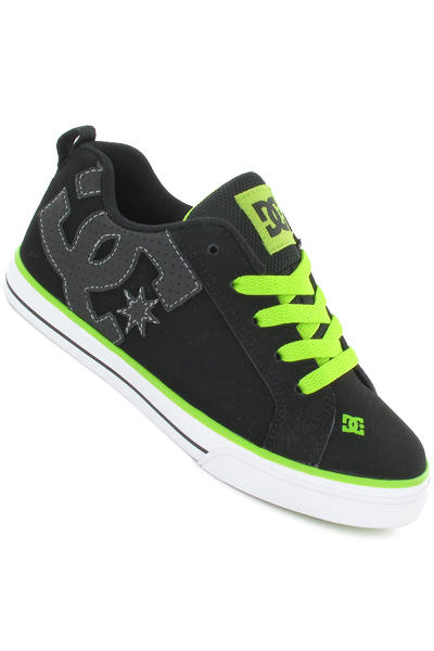 DC Court Graffik Vulc Schuh kids (black soft lime black)