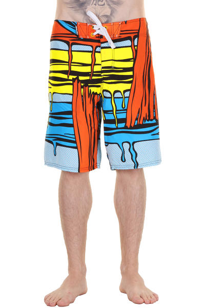 Santa Cruz Strokes Boardshorts (blue pop)