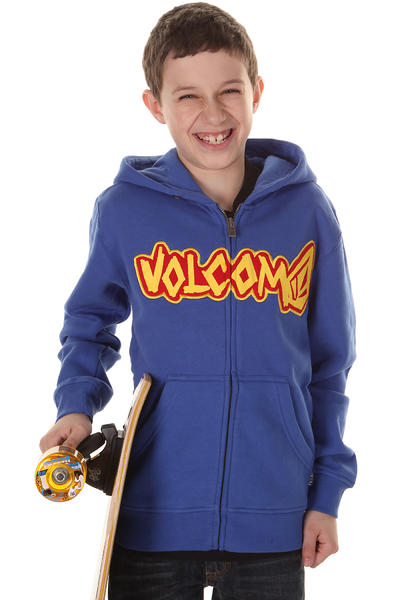 Volcom Punk Locker Zip-Hoodie kids (electric blue)
