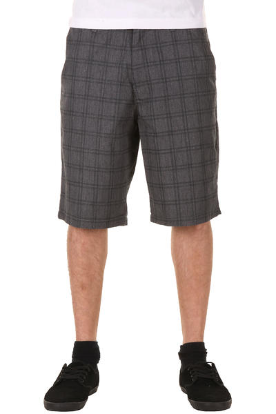 Volcom Frickin Plaid Shorts (charcoal heather)