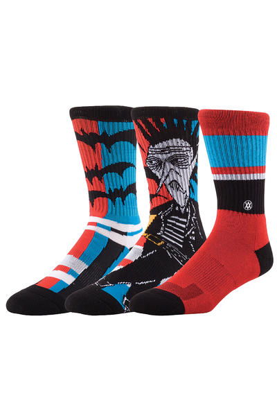 Stance Monster Surf Socken US 6-13  (red)