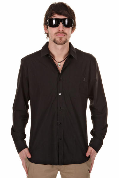 Volcom Ex-Factor Solid Hemd (black)