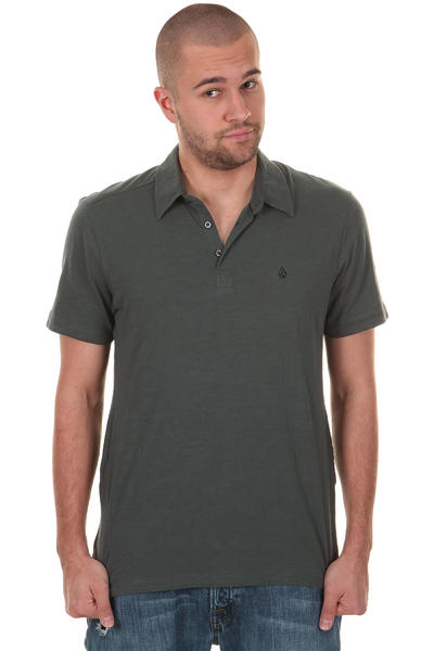 Volcom Bang Out Slub Polo-Shirt (shadow grey)