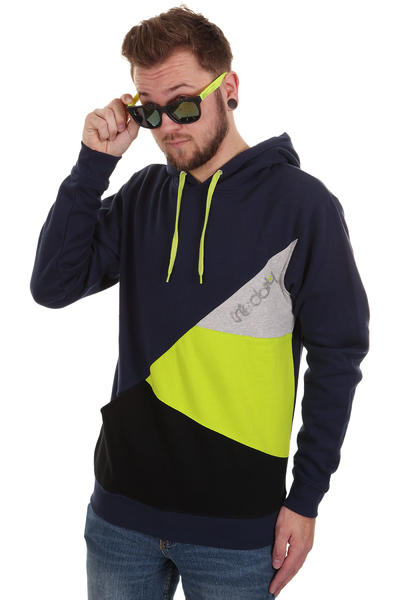 Iriedaily Diagonal 2 Hoodie (navy)